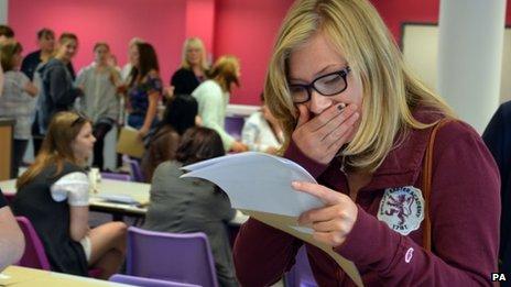Hampshire pupil receives GCSEs