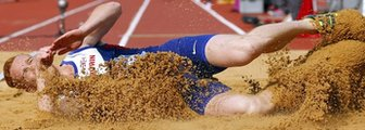 Greg Rutherford is the Olympic, European and Commonwealth long jump champion