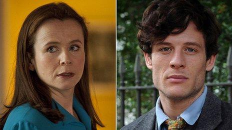 Emily Watson and James Norton