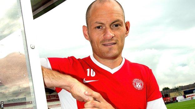 Hamilton player-manager Alex Neil