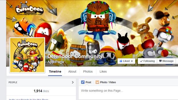 Digitalmania's Defendoor Facebook page
