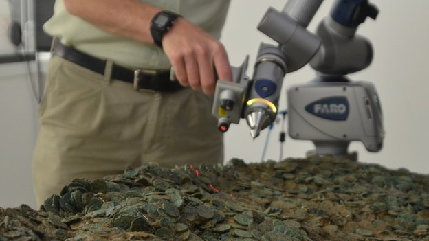 Jersey hoard: Archaeologists unpick 70,000 coins