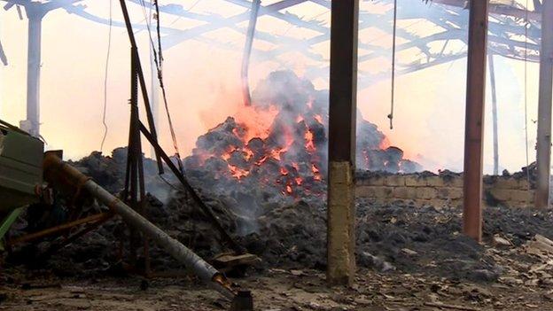 Fire at Elm Lane, Minster