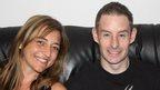 Claire Murgo and Tony Brennan