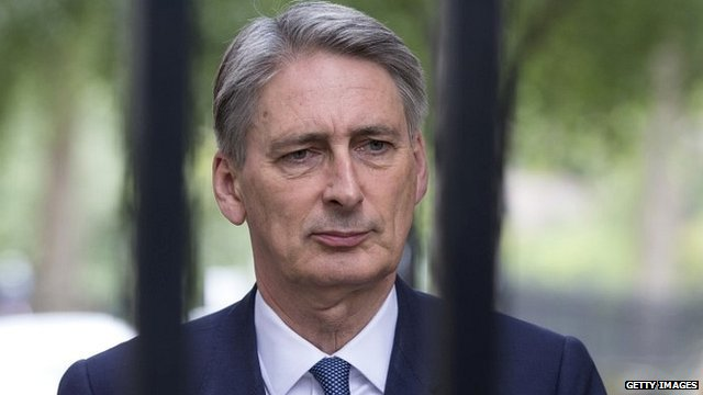 recent photo of Philip Hammond