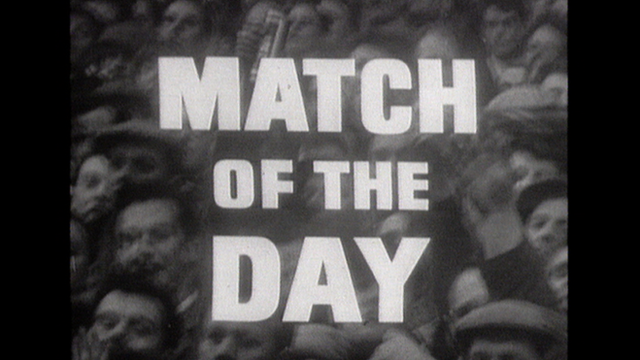 Match of the Day first episode in 1964