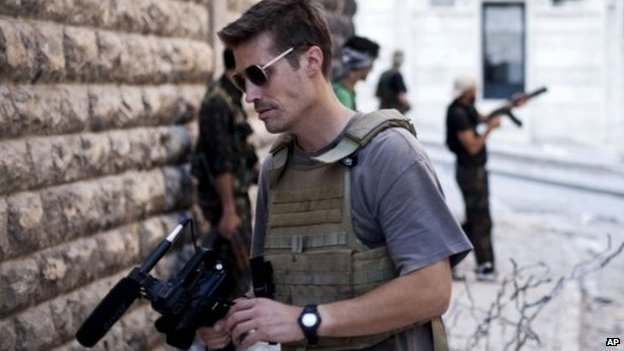 James Foley was reporting in Syria when he was captured in 2012