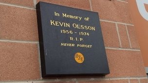 Kevin Olsson memorial