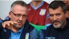Paul Lambert and Roy Keane