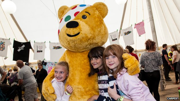 Pudsy at CarFest