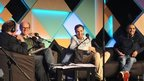 James Naughtie with Will Gompertz, Igor Meerson and Francesco de Carlo