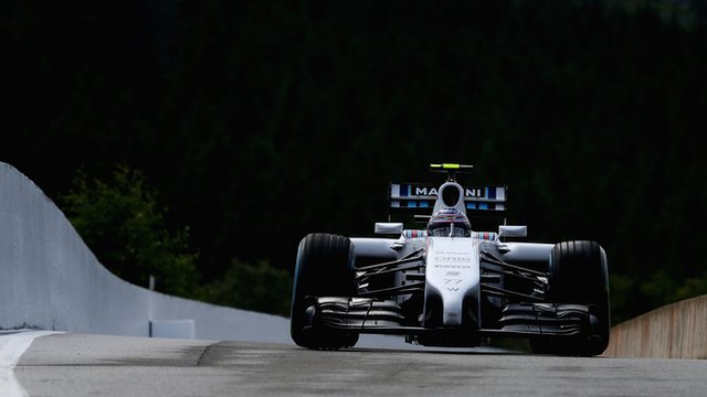 Valtteri Bottas of Williams