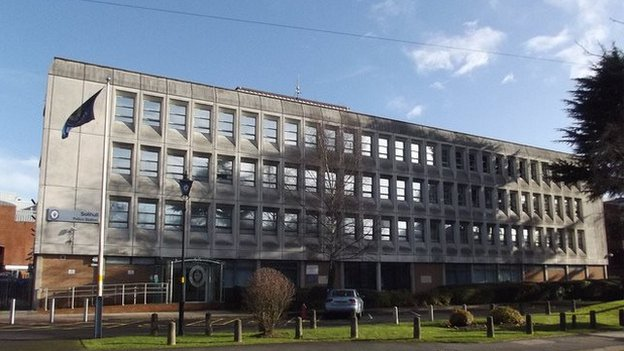 Solihull police station