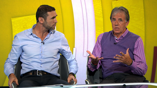 Martin Keown and Mark Lawrenson discuss Mario Balotelli