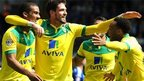 Lewis Grabban and Kyle Lafferty