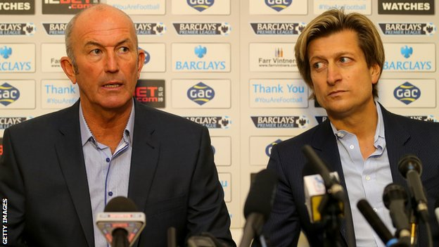 Tony Pulis and Steve Parish
