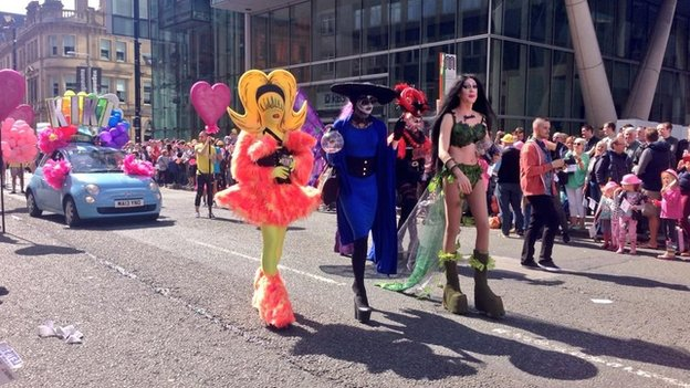 first manchester gay march