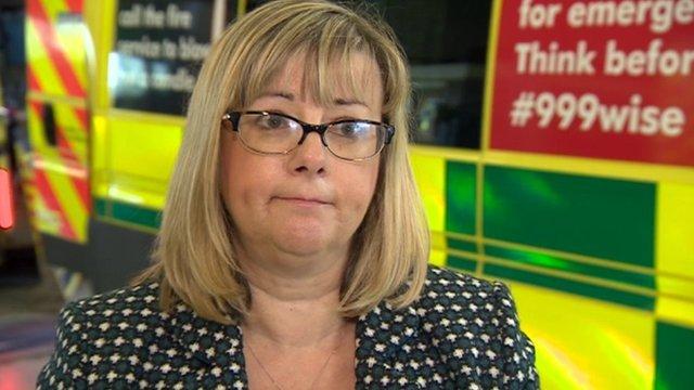 EMAS chief executive Sue Noyes