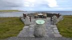 Sumburgh Airport memorial