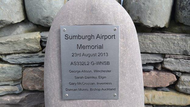 Airport memorial