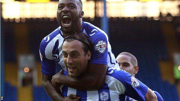 Sheffield Wednesday forward Atdhe Nuhiu