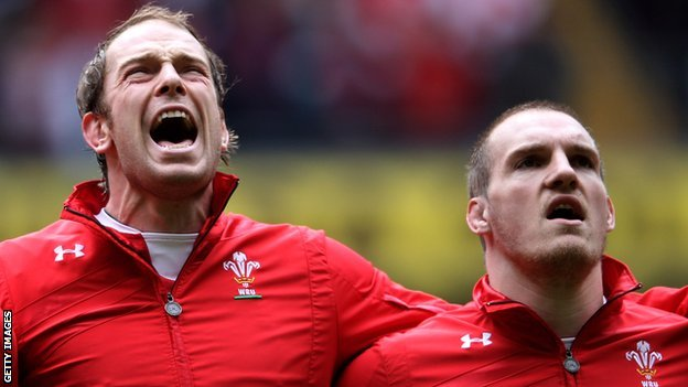 Alun Wyn Jones and Gethin Jenkins
