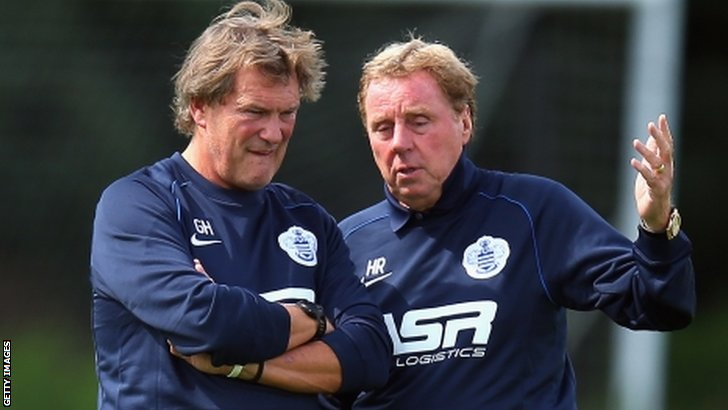Glenn Hoddle & Harry Redknapp