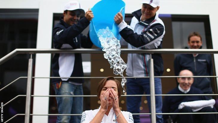 Clare Williams ice bucket