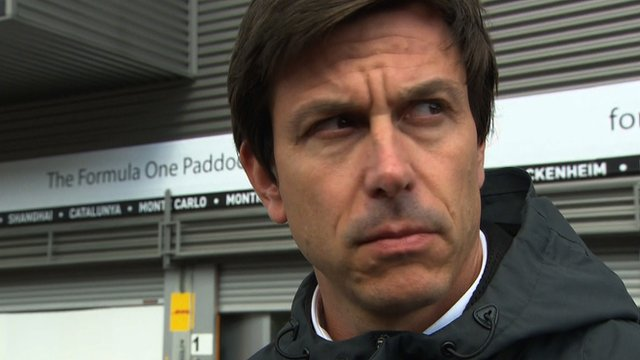 Head of Mercedes Toto Wolff