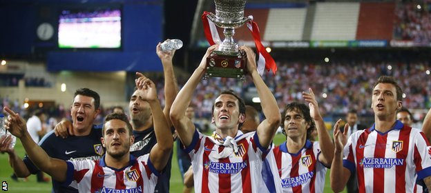 Atletico Madrid win Super Cup