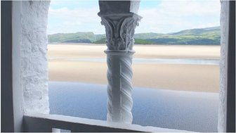 A view from Portmeirion, Gwynedd