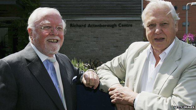 Lord Attenborough and brother David