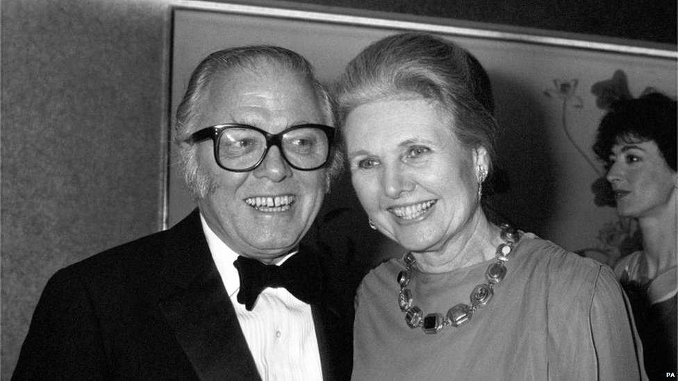 Lord Attenborough with his wife Sheila Sim