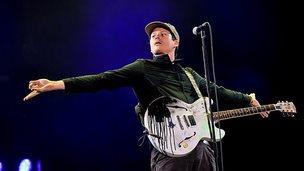 Blink 182 at Reading Festival