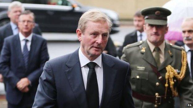 Taoiseach Enda Kenny was in attendance