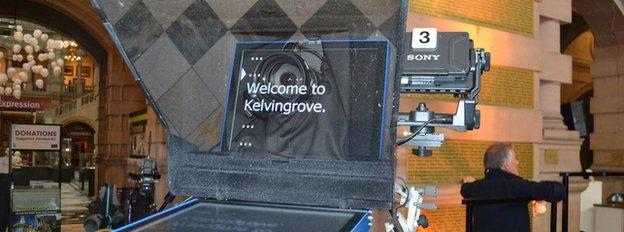 Kelvingrove autocue