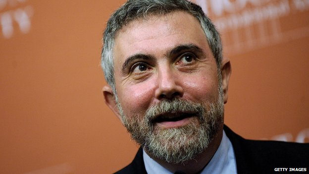 New York Times columnist Paul Krugman.