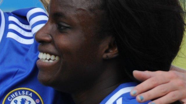 Women's Super League: Eni Aluko helps Chelsea top WSL