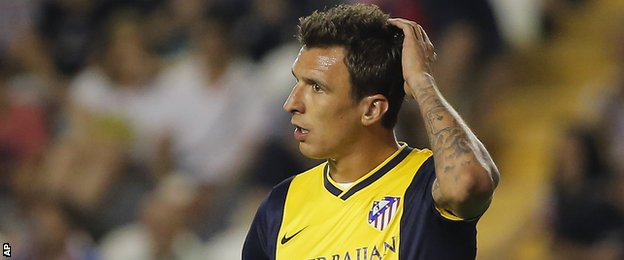 Atletico Madrid striker Mario Mandzukic