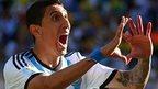 Argentina forward Angel Di Maria
