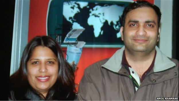 Roopesh and Kavita Nawarkhele