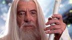 Sir Ian McKellen in Lord of the Rings