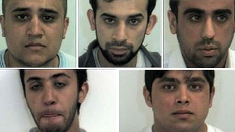 Five men jailed for sexual offences against underage girls in Rotherham in 2010