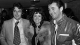 Trevor Francis, his wife Helen and Nottingham Forest manager Brian Clough