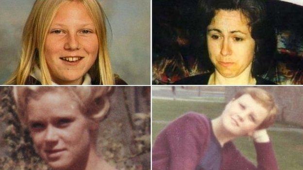 Kate Bushell, Linda Bryant, Tuula Hoeoek and Claire Woolterton
