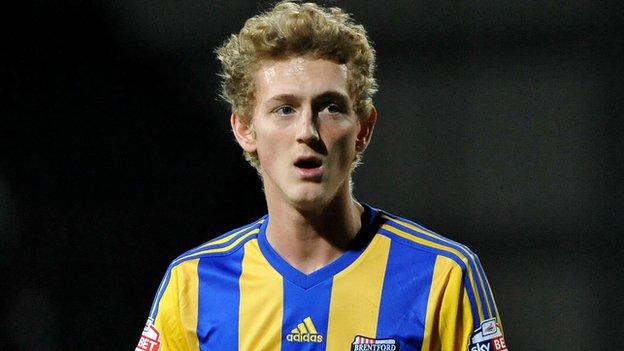 George Saville spent last season on loan with Brentford