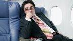 Man on plane