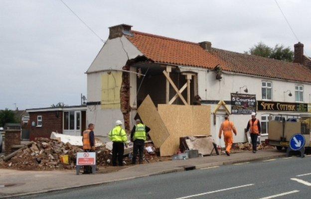 Whaplode pub