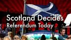 Scotland Decides: Referendum Today logo