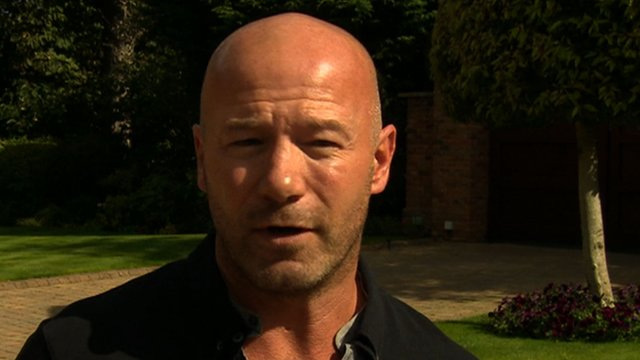 Former England captain Alan Shearer